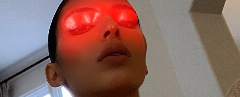 The Weirdest Celebrity Instagrams of the Week, From Kendall Jenner's Laser Eyes to Gillian Anderson's Phallus