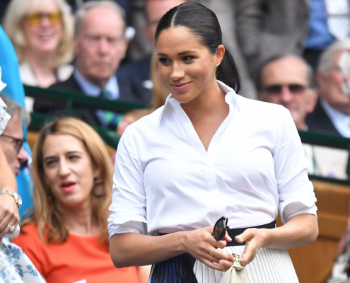Meghan Markle Outfit at Wimbledon 2019