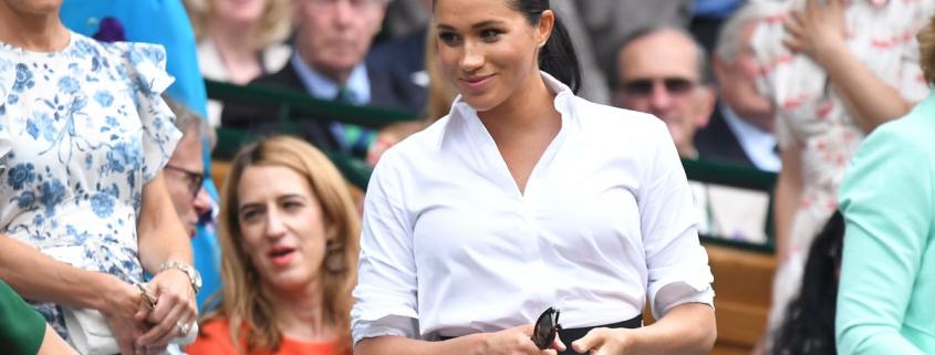 Meghan Markle Outfit at Wimbledon 2019